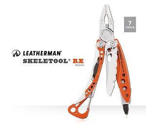 Leatherman SKELETOOL RX 工具鉗 #832312(尼龍套)