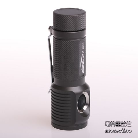ZebraLight 斑馬SC5w OP 手電筒 500流明 中白光 AA *1